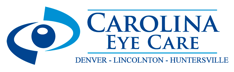logo carolina eye care denver lincolnton huntersville